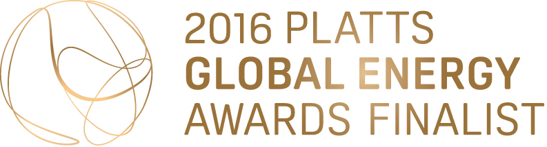 2016 Platts Global Energy Awards Finalist