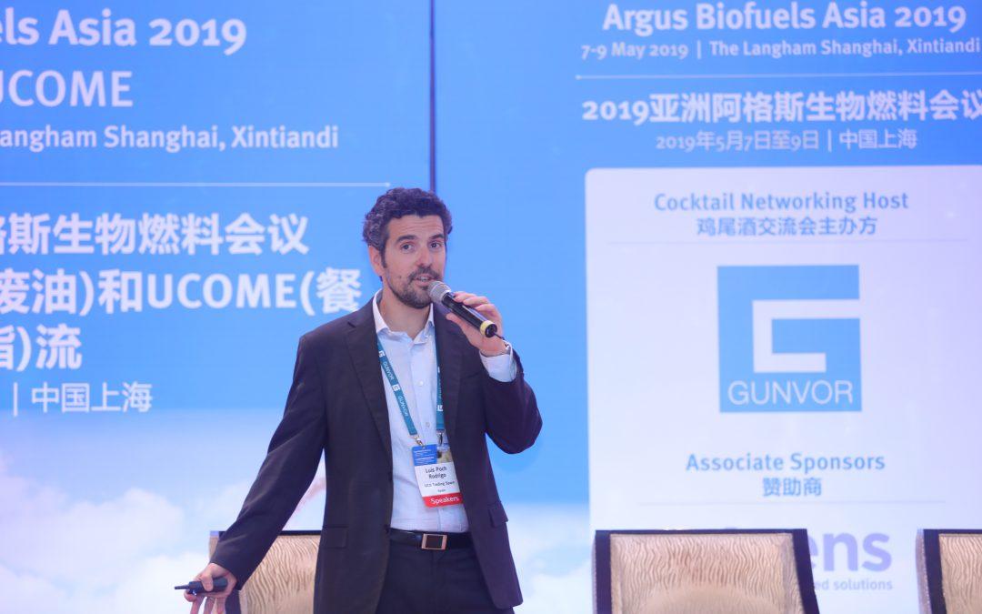 UCO Trading presente en la conferencia Argus Biofuels Asia 2019