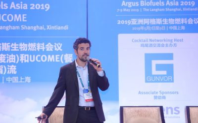 UCO Trading present at the Argus Biofuels Asia 2019 conference